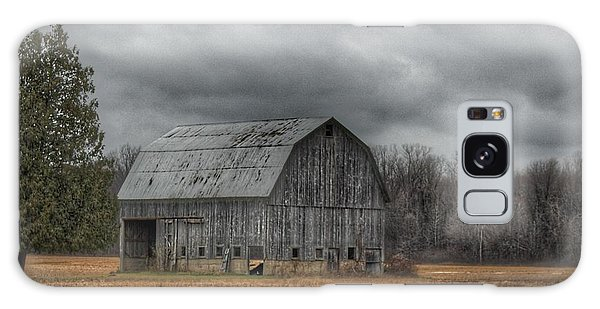 0024 - Grey Barn And Tree Galaxy Case