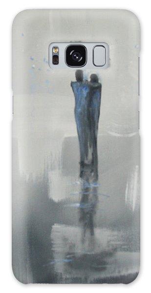 Grey Day Romance Galaxy Case by Raymond Doward