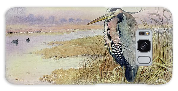 Grey Heron Galaxy S8 Case