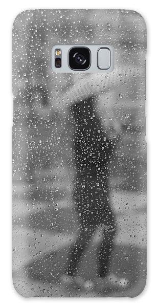 Grey Rain Galaxy Case
