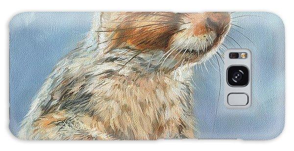 Grey Squirrel Galaxy Case by David Stribbling