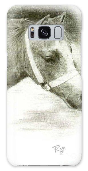 Grey Welsh Pony  Galaxy Case