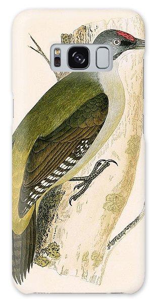 Grey Woodpecker Galaxy Case