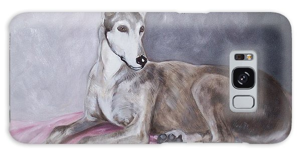Greyhound At Rest Galaxy Case