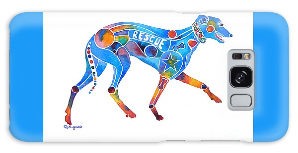 Greyhound Rescue Gffl Galaxy Case by Jo Lynch