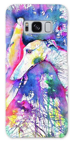Sighthound Galaxy Case - Greyhound Trance by Zaira Dzhaubaeva