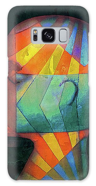 Galaxy Case featuring the photograph Grid Head 2 by Jeff Gettis