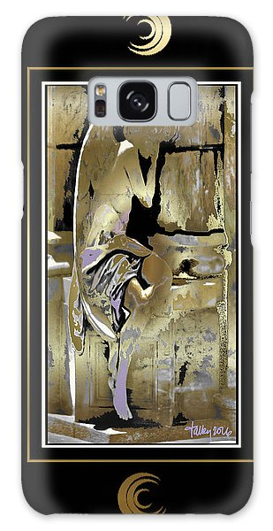 Grief Angel - Black Border Galaxy Case