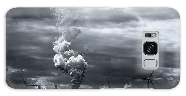 Grim Black White Energy Landscape Galaxy Case