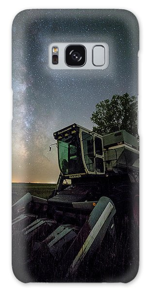 Galaxy Case featuring the photograph Grim Gleaner  by Aaron J Groen