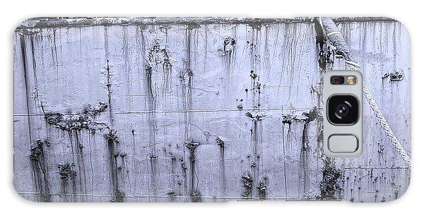 Grimy Old Ship Hull Galaxy Case by Yali Shi