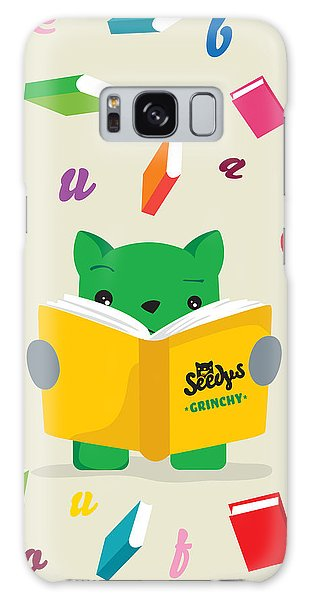 Grinchy And Books Galaxy Case