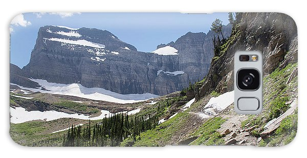 Grinnell Glacier Trail - Glacier National Park Galaxy Case