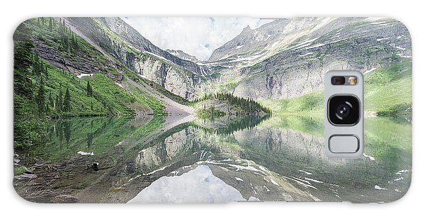 Grinnell Lake Mirrored Galaxy Case