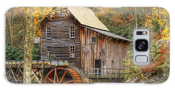 Grist Mill In Autumn Hues Galaxy Case