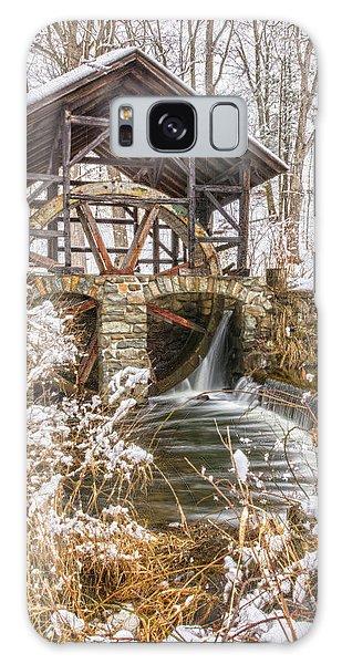 Grist Mill In Fresh Snow Galaxy Case