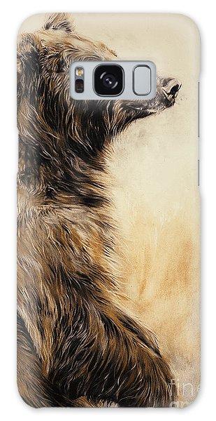 Wild Animals Galaxy Case - Grizzly Bear 2 by Odile Kidd