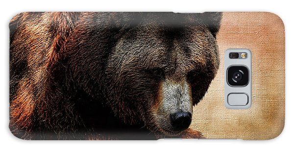 Grizzly Bears Galaxy Case - Grizzly Bear by Judy Vincent