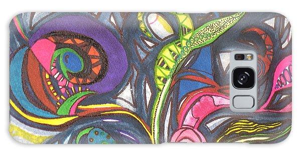 Groovy Series Galaxy Case by Chrisann Ellis