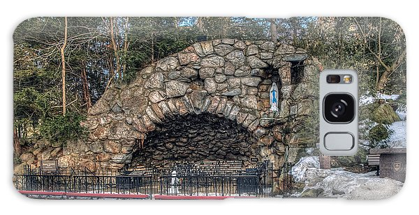Grotto At Notre Dame University Galaxy Case