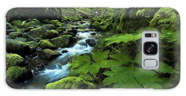 Grotto Falls Galaxy Case