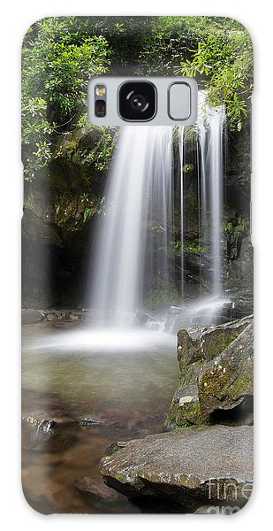 Grotto Falls Vertical Galaxy Case