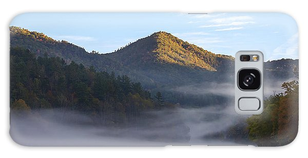 Ground Fog In Cataloochee Valley - October 12 2016 Galaxy Case