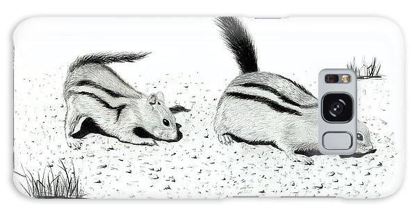 Ground Squirrels Galaxy Case