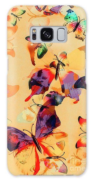 Group Of Butterflies With Colorful Wings Galaxy Case by Jorgo Photography - Wall Art Gallery