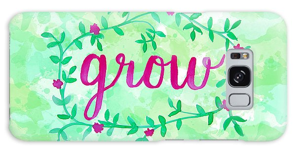 Gardens Galaxy Case - Grow Watercolor by Michelle Eshleman