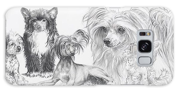 The Chinese Crested And Powderpuff Galaxy Case