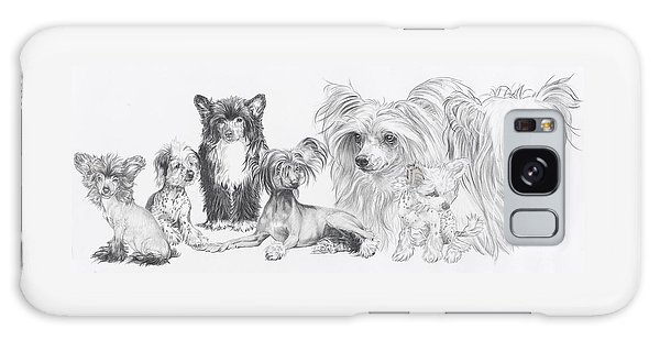 Growing Up Chinese Crested And Powderpuff Galaxy Case