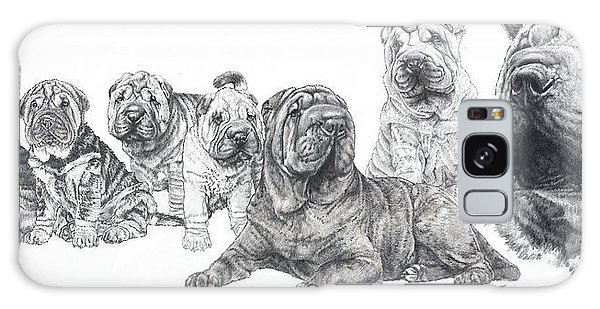 Mister Wrinkles And Family Galaxy Case