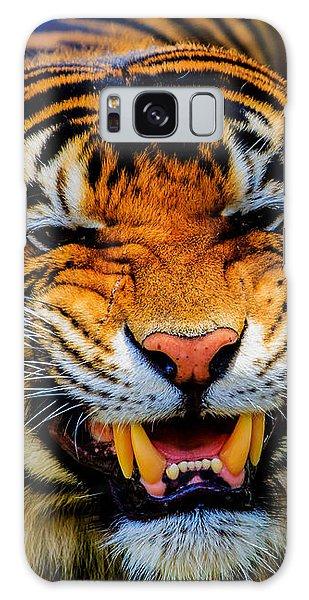 Growling Tiger Galaxy Case