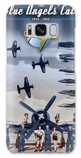 Grumman Blue Angels Cats Galaxy Case