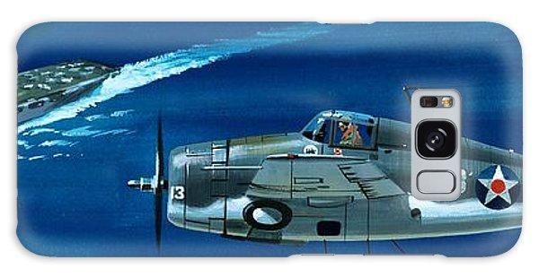 Airplane Galaxy S8 Case - Grumman F4rf-3 Wildcat by Wilf Hardy