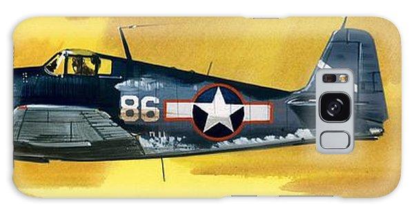 Airplane Galaxy S8 Case - Grumman F6f-3 Hellcat by Wilf Hardy
