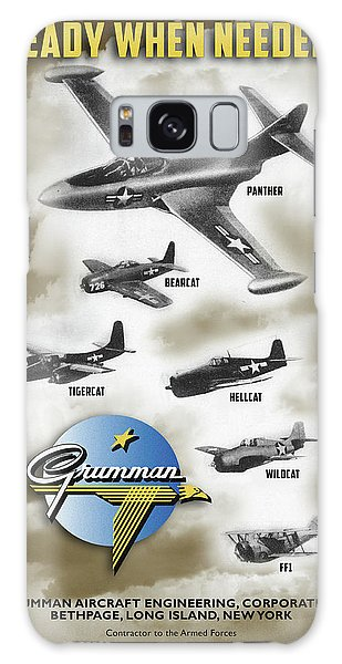 Grumman Ready When Needed Galaxy Case