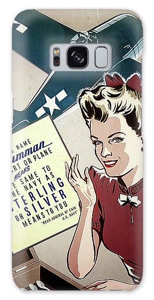 Grumman Sterling Poster Galaxy Case