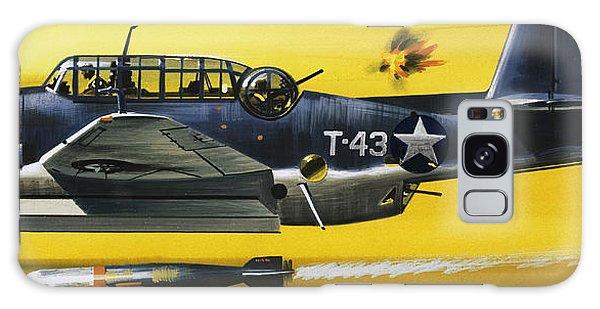 Grummen Tbf1 Avenger Bomber Galaxy Case by Wilf Hardy