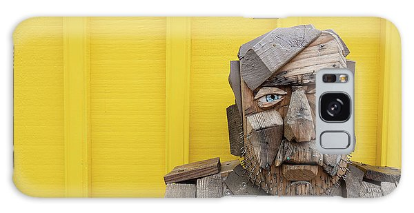 Galaxy Case featuring the photograph Grumpy Old Man by Edward Fielding