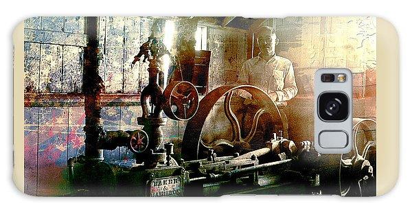 Grunge Meyer Mill Galaxy Case