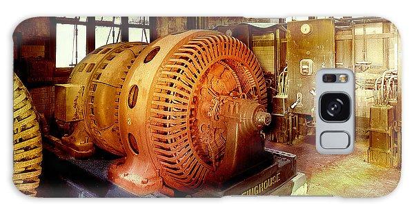 Grunge Motor Generator Galaxy Case