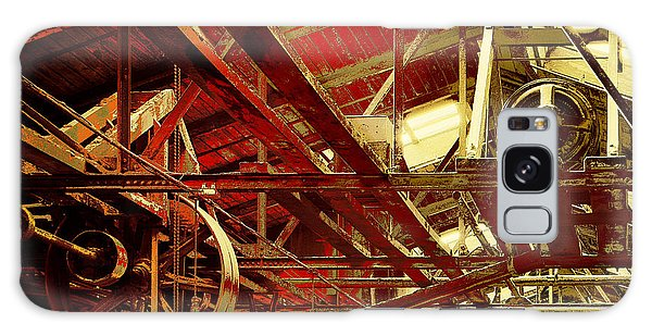 Galaxy Case featuring the photograph Grunge Power System by Robert G Kernodle