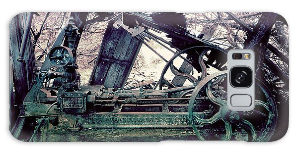 Galaxy Case featuring the photograph Grunge Steam Engine by Robert G Kernodle
