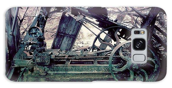 Grunge Steam Engine Galaxy Case