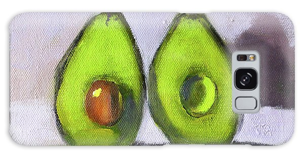 Galaxy Case featuring the painting Guacamole by Nancy Merkle