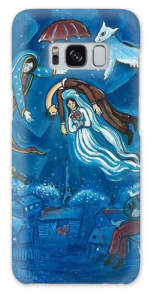 Guadalupe Visits Chagall Galaxy Case