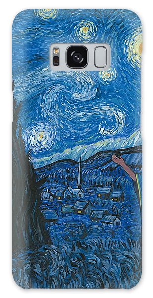 Guadalupe Visits Van Gogh Galaxy Case