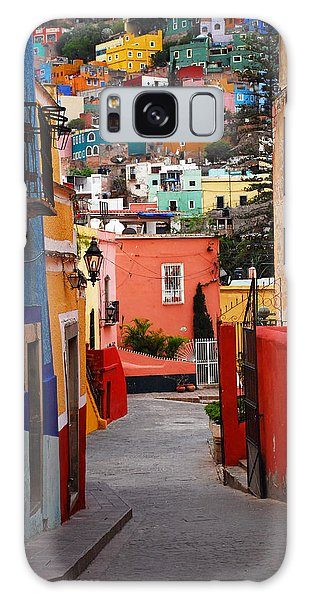 Galaxy Case featuring the photograph Guanajuato Lane by Skip Hunt